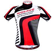 Wosawe Cycling Tops / Sweatshirt / Jerseys Women's / Unisex Bike Breathable / Moisture Permeability / Quick Dry / Anatomic DesignShort