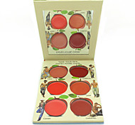 New Face Sleek Makeup 6 Color Blush Palette Bronzer Cheek & Lip Cream /Powder Mineralize Blusher Set Make Up Cometics