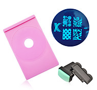 Nail Art Stamping Image Plate Holder Stamper Scraper Set Polish Printing Stencil Template Manicure Nail Tools