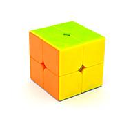 Yongjun® Cubos Mágicos 2*2*2 Velocidade Cube velocidade lisa Arco-Íris ABS Brinquedos