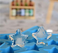diy maison pentagramme de moule de glace couleur aléatoire