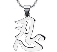 Men's Fashion Ninja Style Steel Pendant for Necklace