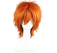 Cosplay Wigs The Prince of Tennis Kid the Phantom Thief Orange Short Anime Cosplay Wigs 35 CM Heat Resistant Fiber Male / Female