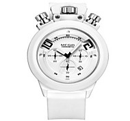 MEGIR® Men's Silicone Band 30M Water Resistant Dress Fashion Sports Watch Jewelry
