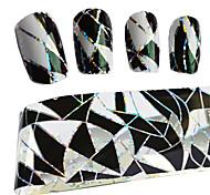 100cmx4cm термотрансферные советы фольга польша маникюр моды DIY декоративные наклейки для ногтей stzxk11
