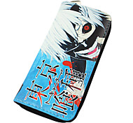 Bag / Wallets Inspired by Tokyo Ghoul Ken Kaneki Anime Cosplay Accessories Wallet Blue PU Leather Male / Female