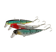 1 pcs Floating 3 Sections Minnow Fishing Lure 10cm/16g