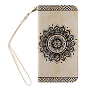 Cool 3D Retro Flower Patterned PU Leather Cases Covers for Samsung Galaxy A510/A310