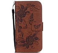 картина бабочки печати PU кожаный бумажник чехол для Iphone 6 / 6S / 6 плюс / 6с плюс (ассорти цветов)