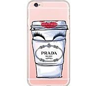 pour iphone 7 couverture arrière transparente corps / ultra-mince autre tpu softapple iphone 6s 6 plus