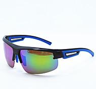 99520 brillante pellicola blu scuro placcato gli sport all'aria aperta Vetri polarizzati occhiali vetri di riciclaggio vento occhiali