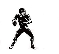 Playing Rugby Vinyl Wall Decals Mural Stickers For Kids Rooms Boys Rooms
