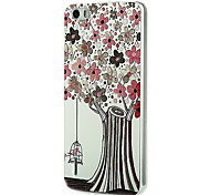 Ultra-thin Cartoon Protection Matte Relief For Huawei honor6(The Cage Outside The Flowers)