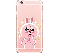 iPhone SE/5s/5 TPU  Little Rabbit Translucent  Back Cover