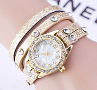 Women's Snow Bracelet Diamond Simple Digital Watch