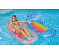 INTEX Sit 'n Float Classic Inflatable Raft Swimming Pool Lounge160*85