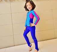Kid's Dive Skins Wetsuit Skin Full Wetsuit Waterproof Ultraviolet Resistant Full Body Tactel Diving Suit Long SleeveDiving Suits Swimwear
