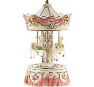 abs gelb / pink kreativ für Geschenk romantische Musik-Box