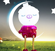 Creative Pink Piggy Shape Light  Night Light