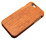 poire en bois de protection dos étui rigide iphone pour iphone 6s plus / iphone 6 6s plus / iphone / iphone 6