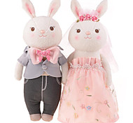Tyra M Rabbit Weddingdolls, Plush Toys,a