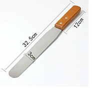 8 inch Bread Knife Wooden Handle Stainless Steel Spatula Baking & Pastry Tools Bakeware/Kitchenware