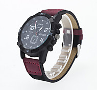 Men's Sport Watch Quartz Analog Wrist Watch PU Band Fashion Watch(Assorted Color) Cool Watch Unique Watch