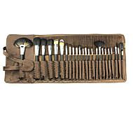 24 Set di pennelli Altro Professionale Legno / Metallo / Plastic Viso Altro