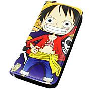 One Piece-Monkey D. LuffyPele PU-Carteiras