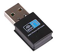 mini-usb receptor wi-fi 300mbps rtl8191 adaptador sem fio