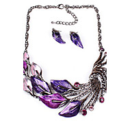 Hualuo®Female Fashion Jewelry Set Necklace/Earrings