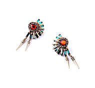 Hualuo®Bright Color Fashion Design Drop Earrings for Women