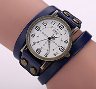 Men's Leather Quartz Watch Wrist Watch Cool Watch Unique Watch Fashion Watch