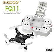 FQ777 FQ11W Drohne 6 Achsen 4 Kan?le 2.4G Ferngesteuerter QuadrocopterEin Schlüssel Für Die Rückkehr / Kopfloser Modus / 360-Grad-Flip