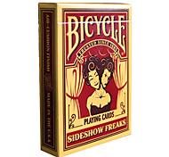bicicleta cartões de poker malabarismo monstro mágica cartão de adereços tabela terno de natação