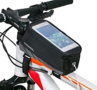 Roswheel®Cycling Bike Bicycle Handlebar Frame Pannier Front Top Tube Bag Pack Rack X for  5.5 Inch Mobile Cell Phone