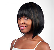 Europe And The United States The New 10 Inch BOBO Old Black Short Straight Hair Wigs