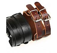 Men's Wide Leather Bracelet Jewelry (27.5*5cm)