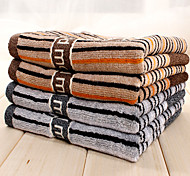 2pc Pack Stripe Pattern Hand Towel 100% Cotton High Quality Super Soft