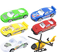 Dibang - children's educational toys car pull back alloy car model toy ice cream cars (6PCS)