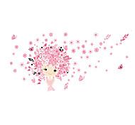 Животные / Мультипликация / Романтика / Мода / Цветы / Праздник / Пейзаж / Геометрия / люди / фантазия Наклейки Простые наклейки,PVC115cm