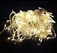 all'aperto luce della decorazione della stringa del LED 10m 100 LED AC220V / 110V UE 8 modalità di affitto giardino festa natalizia