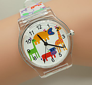 Kids' Watch Beautiful Child Watch the Animal Zoo Transparent Fashion Watch Cool Watches Unique Watches