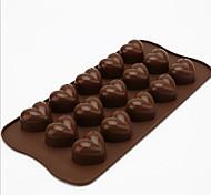 Cucina creativa Gadget / Migliore qualità / Alta qualità 15 Holes Chocolate Mold Silicone 21*10.5*2