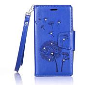 Dandelions Diamond Flip Leather Cases Cover For Asus Zenfone ZB551KL/ZE500KL Strap Wallet Phone Bags