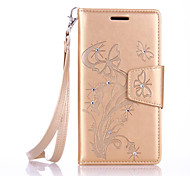 Lanyard Embossed Diamond Phone Holster Phone Shell for Samsung Galaxy J310/J510/J710/G530/G360