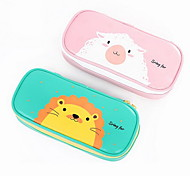 Students Animal Pencil Case Stationery Pen Bag