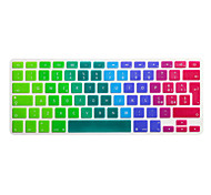 Italian Language Colorful Silicone Keyboard Cover Skin for Macbook Air 13.3/Macbook Pro 13.3 15.4,EU version