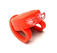 Silicone Bike Rear Lights 3 Mode Waterproof/LED Bicycle Safety Light Small Size CR2032 Battery/Cycling Rubber Frog Shape
