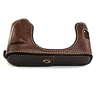 Fujifilm Camera X100/X100s Leather Protective Half Case/Bag